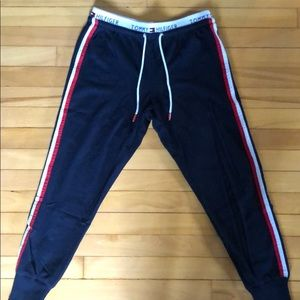 BRAND NEW, navy Tommy Hilfiger joggers